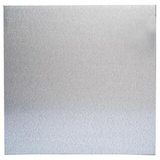 "Silver - Magnetic Steel Sheet 12""X12"""