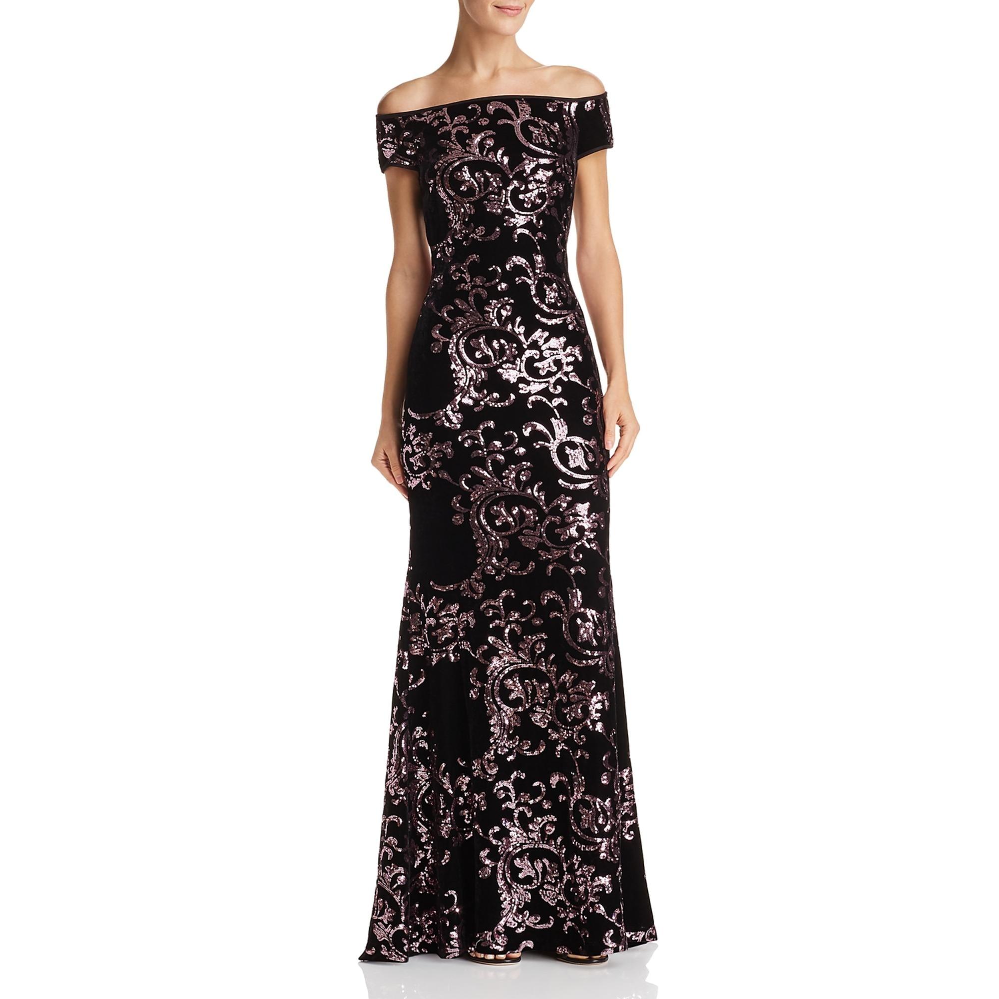 Shop Eliza J Womens Formal Dress Velvet