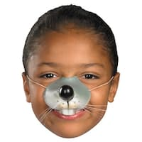 Mouse Nose Child Costume Accessory - Grey