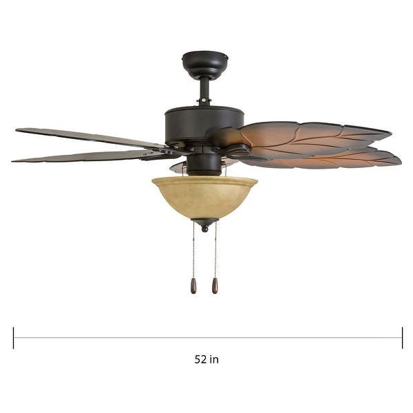 Prominence Home Pacific Sail Aged Bronze Lit Ceiling Fan W Remote Overstock 22353646
