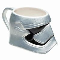 Star Wars: The Force Awakens Captain Phasma Sculpted Ceramic Mug - Multi