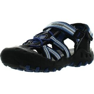 ed3984652b0 Shoes & Handbags Sandals Geox Boys Jr Kyle a Closed Toe Sandals