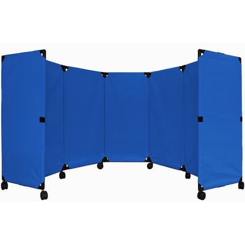 MP10 Economical Portable Accordion Partition. by Versare