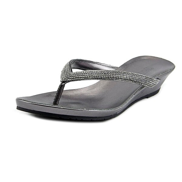 Kenneth Cole Reaction Great Time Women Pewter Sandals