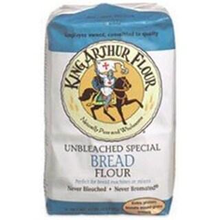 King Arthur Unbleached For Machine Flour 5 LB -Pack of 8
