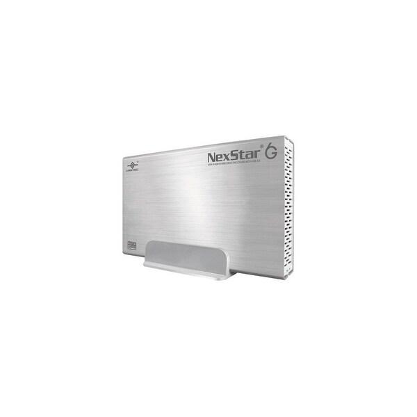 """Vantec NST-366S3-SV Vantec NexStar 6G NST-366S3-SV Drive Enclosure External - Silver - 1 x Total Bay - 1 x 3.5"""" Bay - USB"""
