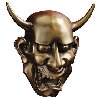 Design Toscano Halloween Noh Hannya Demon Mask: Wall Sculptures