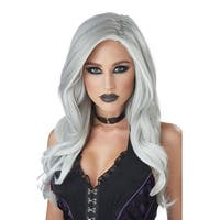 California Costumes Gray and White Fatal Beauty Adult Wig - Grey/white