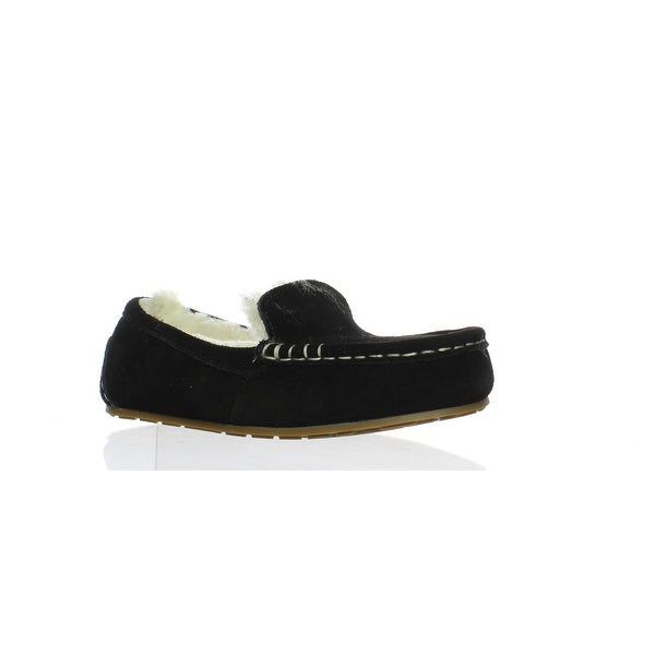 0447295d099 Shop Koolaburra Womens 1020389 Black Moccasin Slippers Size 5 - Free ...