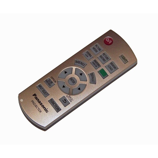 OEM Panasonic Remote Control Originally Shipped With: PT-AR100, PTAR100