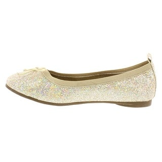 Kenneth Cole Reaction Womens Copy Tap Fabric Closed Toe Ballet Flats