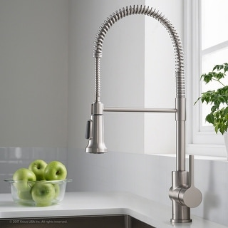 Link to Kraus KPF-1690 Britt Commercial 2-Function Pulldown Kitchen Faucet Similar Items in Faucets
