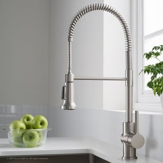 Link to Kraus KPF-1690 Britt Commercial 2-Function Pulldown Kitchen Faucet Similar Items in Sinks