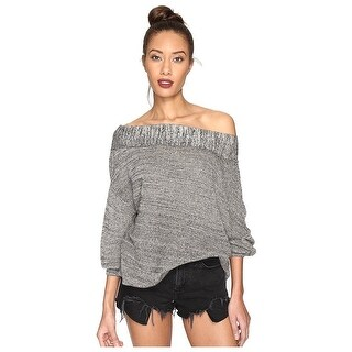 Free People Off The Shoulder Sweater - l