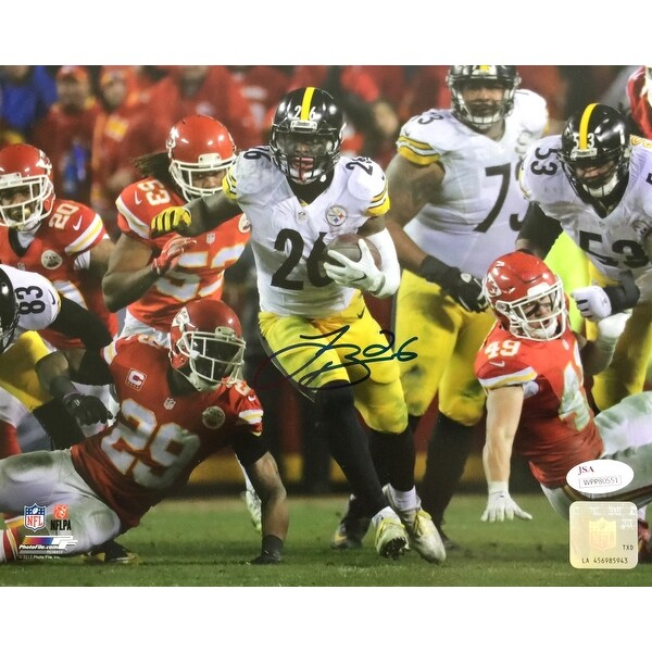 4477f5c0463 Shop Le Veon Bell Signed 8x10 Pittsburgh Steelers Run vs Chiefs Photo JSA -  Free Shipping Today - Overstock - 22253246