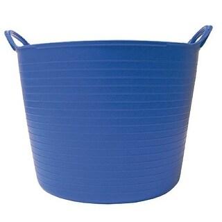 Tubtrugs SP14BL 3.7 Gallon Flexible Storage Bucket, Blue