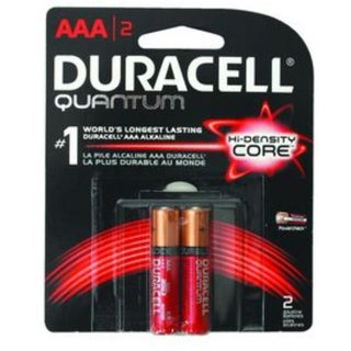 Duracell Quantum High-Density Core AAA Batteries 2 ea (3 options available)