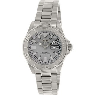 Invicta Women's Signature 7048 Silver Stainless-Steel Automatic Diving Watch