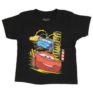 Disney Cars Toddler Boys Lightening McQueen VROOM T-Shirt