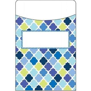 Eureka EU-866419 Blue Harmony Diamond Library Pocket