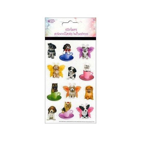 SandyLion Sticker Kimberlin Puppies