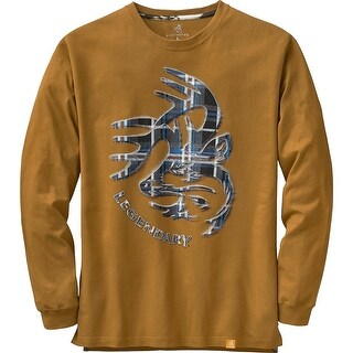 Legendary Whitetails Men's Signature Series Long Sleeve T-Shirt - Barley