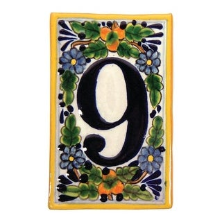 Native Trails TVR9920 Hand Painted House Number '9'