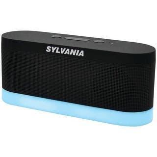 Sylvania Sp136-Black Bluetooth(R) Moonlight Speaker (Black)|https://ak1.ostkcdn.com/images/products/is/images/direct/1bb199d445c19a6ebc77a72ce65f6ad529b145c9/Blth-Moonlight-Spkr-Blk.jpg?impolicy=medium
