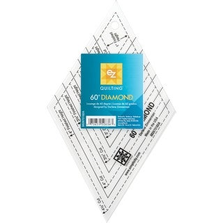 "60 Degree Diamond Shape Acrylic Tool-1"" To 4-1/2"""