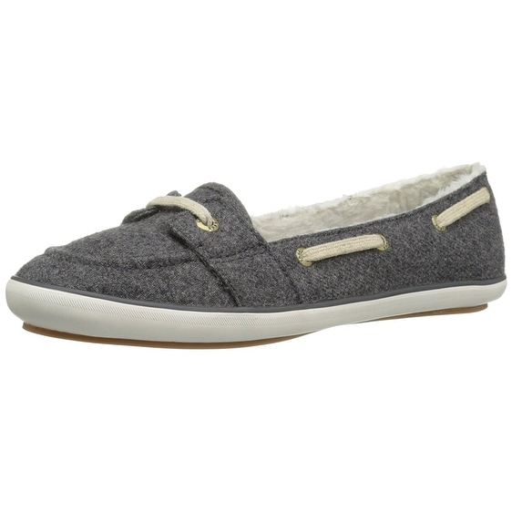 Keds Womens Teacup Low Top Slip On Fashion Sneakers