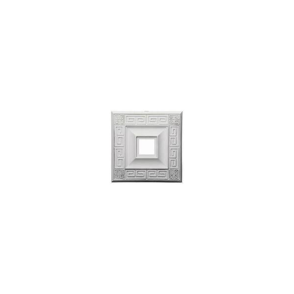 Shop Ekena Millwork Cm18er 18 Wide Eris Ceiling Medallion White Overstock 13749378