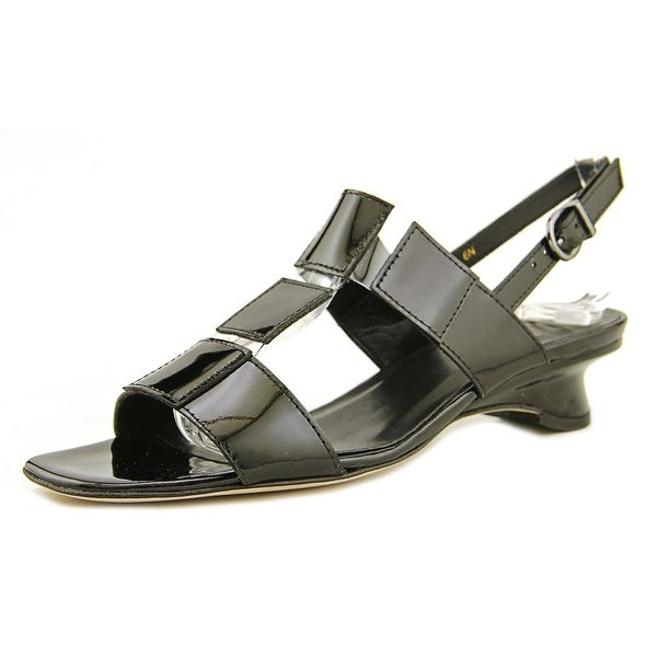 Vaneli Berdine Women N/S Open-Toe Synthetic Black Slingback Sandal
