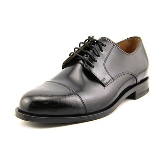 Cole Haan Carter Grand. Split W Round Toe Leather Oxford