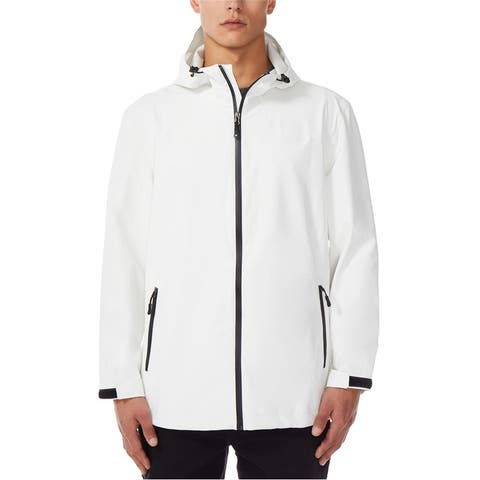 32 Degrees Mens Hooded Raincoat