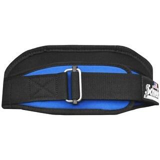 "Schiek Sports Model 2004 Nylon 4 3/4"" Weight Lifting Belt - Royal Blue"