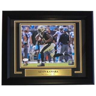 Alvin Kamara Signed & Framed New Orleans Saints 8x10 Photo JSA ITP