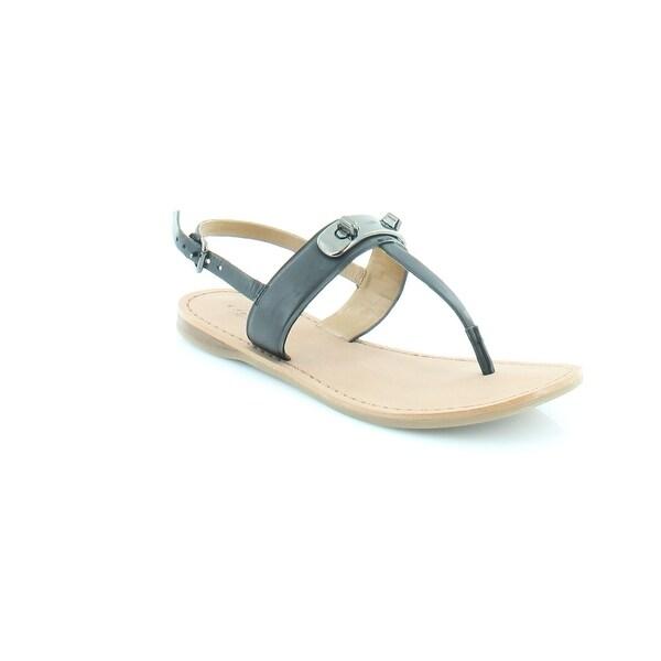 Coach A00949 Women's Sandals & Flip Flops Black