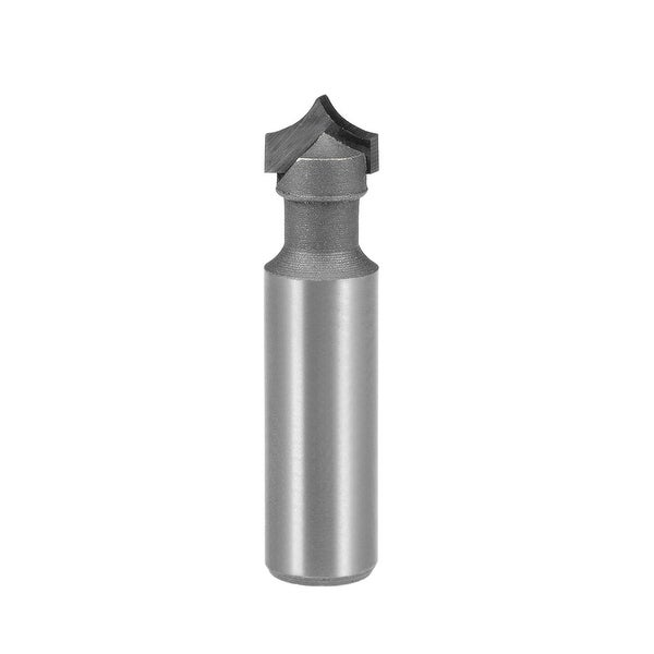Router Bit 1/2 Shank 1/2 inch Dia Tapered End Mill, Carbide for Woodworking