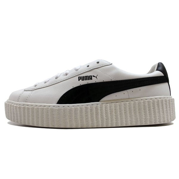Puma Men's Creeper White Leather Puma White/Puma Black Puma X Fenty Rihanna 364640-01