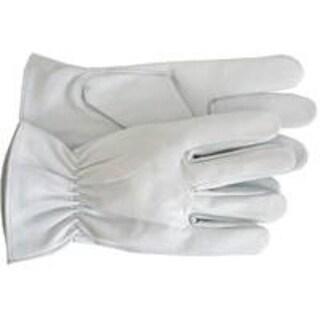 Boss 4080WL Premium Goatskin Glove, White, Large