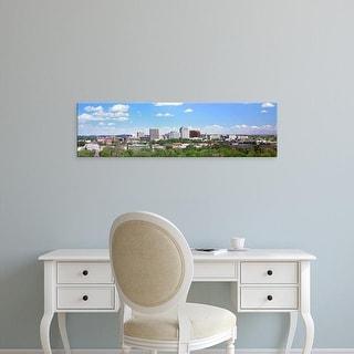 Easy Art Prints Panoramic Images's 'Buildings in a city, Colorado Springs, Colorado, USA' Premium Canvas Art