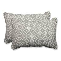 Set of 2 Pebble Geo Star Over-sized Rectangular Throw Pillow 24.5""