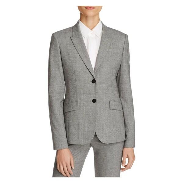 a79e6b31d Shop Hugo Boss Womens Julea Suit Jacket Wool Stretch - Free Shipping Today  - Overstock - 18402834