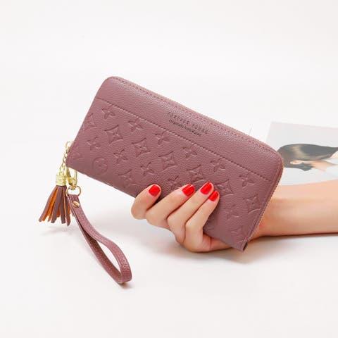 New Korean Embossed Women's Wallet