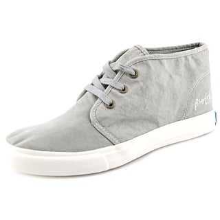 Blowfish Maggs Women Round Toe Canvas Gray Sneakers