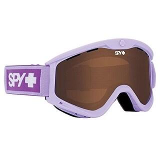 Spy Optic 648478756236 Targa 3 Snow Ski Goggles Lavender Frame Bronze Lens - elemental lavender
