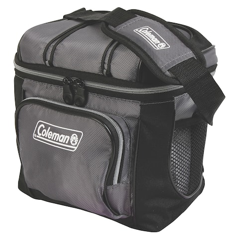 Coleman 9 can cooler gray