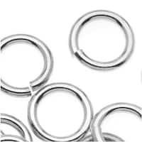 Silver Plated JUMPLOCK Jump Rings 10mm Diameter 14 Gauge Thick (20)