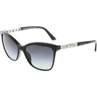 Bvlgari Women's Gradient BV8163B-501/8G-56 Black Butterfly Sunglasses