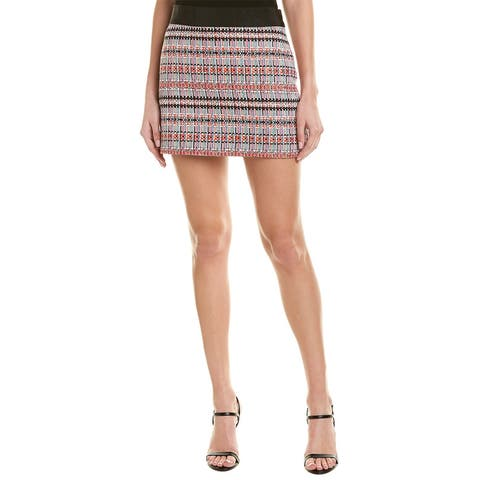 Milly Striped Mini Skirt